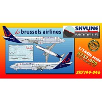 737-400 Brussels airlines 1/144