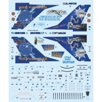 Belgian airforce F-16A 349 sqn Decals 1/72