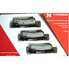 3 piece folding wagon set Cargo cars