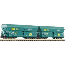 selfdischarging FALNS Sea-rail Cargo cars