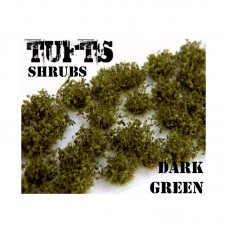 Shrub tuft dark green Plants