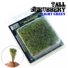 tall shrubbery light green Plants