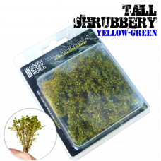 tall shrubbery yellow green Plants