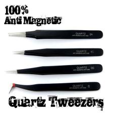 100% Anti-magnetic QUARTZ Tweezers SET Tweezers