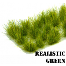 Grass tufts XL realistic green grass and grass mats