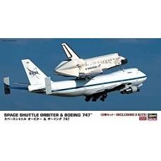 Space shuttle orbiter & boeing 747 1/200