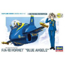 egg plane F18 Blue Angels egg plane