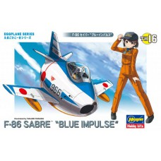 egg plane F-86 Sabre Blue Impulse egg plane
