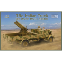 3Ro Italian Truck with 100/17 100mm Howitzer 1/35