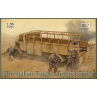3Ro Italian Truck - Troop Carrier 1/35