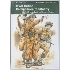 WWII British commonwealth infantry Warlord Games