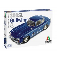 Mercedes Benz 300SL Gull Wing 1/24
