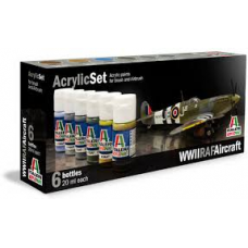 WWII RAF aircraft Italeri paint set