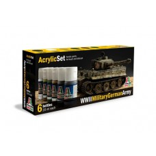 WWII Military German Army Italeri paint set