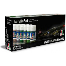 WWII USAAC aircraft Italeri paint set