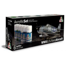 WWII US Navy aircraft Italeri paint set