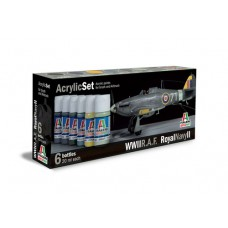 WWII RAF Royal Navy II Italeri paint set
