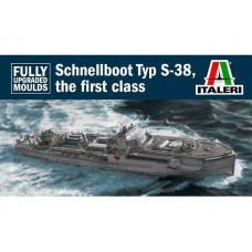 Type S-38 Schnellboot With Bofors 1/35