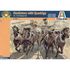 Gladiators with Quadriga 1/32