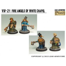 Fire Angels of White Chapel 2 Steampunk