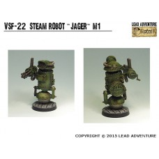 Steam robot Jager Steampunk