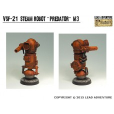 Steam robot Predator Steampunk
