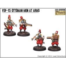 Ottoman men at arms 2 Steampunk