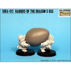 Raiders of the dragon egg Dwarves