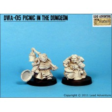 Picnic in the dungeon Dwarves