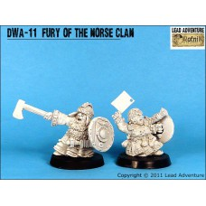 Fury of the Norse Clan Dwarves
