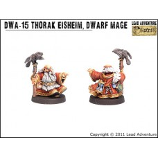 Thorak Eisheim the Dwarf Mage Dwarves