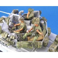 US AFV Crew set Vietnam 1/35