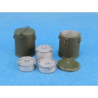 WWII M1941 Food Container set 1/35