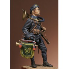 French Alpine Chasseur 1918-1920 1/24 - 75 mm
