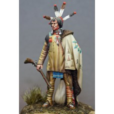 Teton Sioux Lakota warrior 1830 1/24 - 75 mm