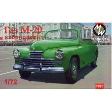 GAZ M20 cabriolet 1/72