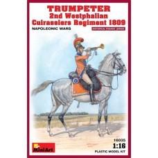 Trumpeter Second Westphalian Curassiers Regmt. 1809 1/16
