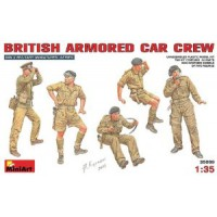 British armoured car crew 1/35