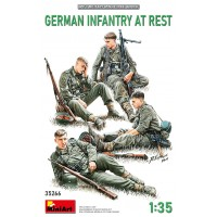 German infantry at rest 1/35