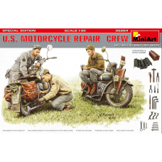 US Motorcycle Repair crew 1/35