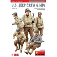 US Jeep Crew & MP's 1/35