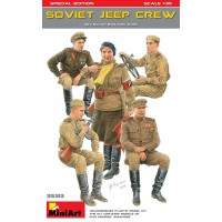 Soviet Jeep crew special edition 1/35