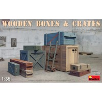 Wooden boxes and crates 1/35