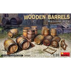 Wooden barrels medium 1/35