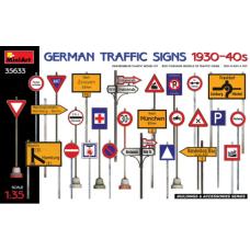 German Traffic Signs 1930-40s 1/35
