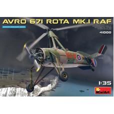 Avro 671 Rota Mk.I RAF 1/35