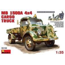MB 1500A 4x4 Cargo truck 1/35