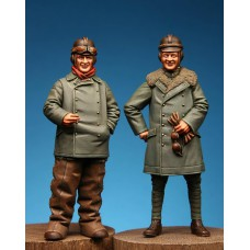 WWI German 2 seater crew 1/32