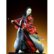 Samurai female warrior Historische figuren