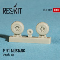 North American P-51 MUSTANG wheels set   1/48